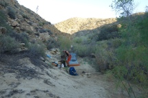 Camping in Canyon