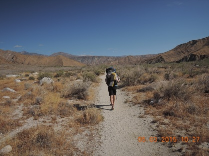 Leaving Whitewater Preserve